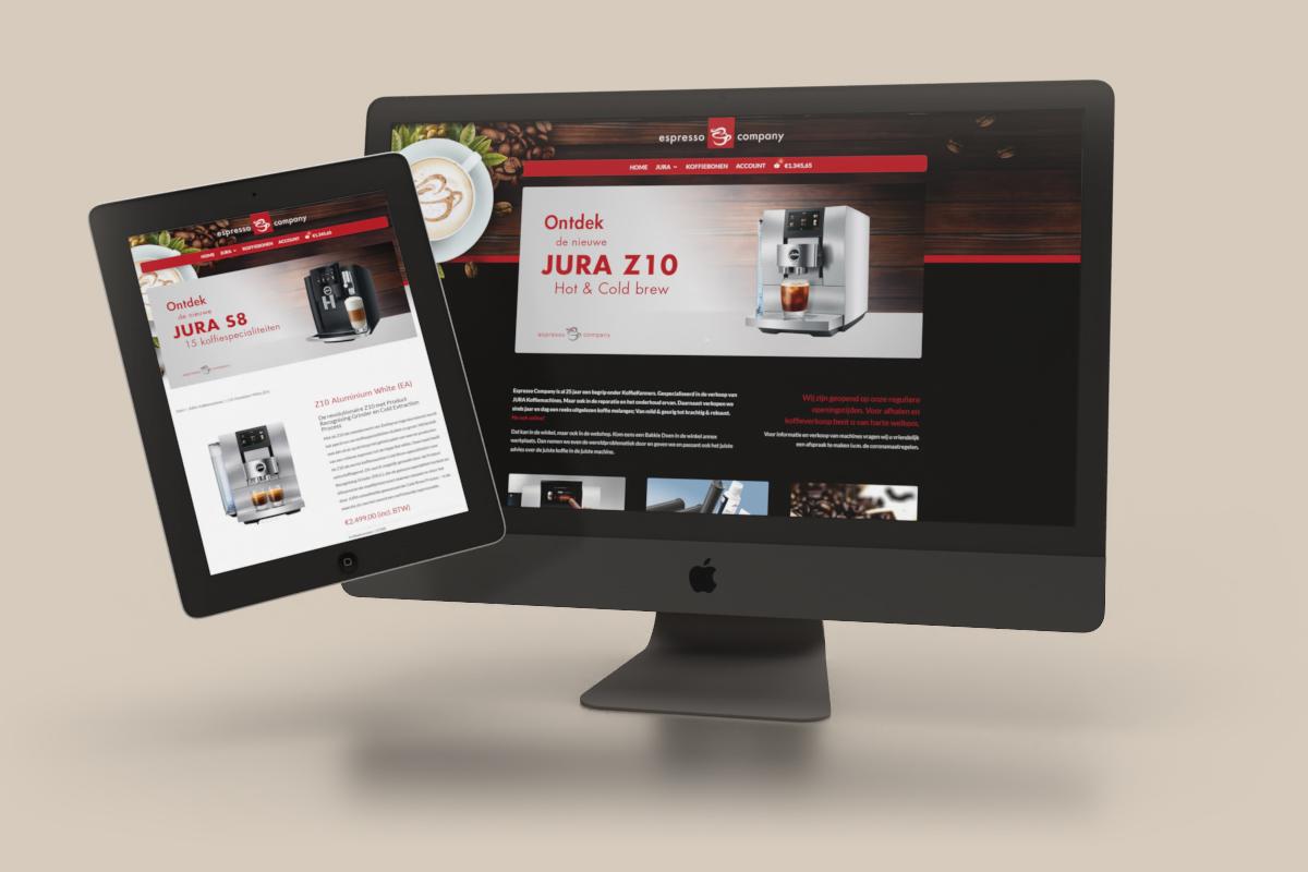 Espresso Company Webshop